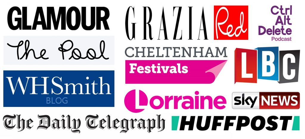 Media appearances for Mental Health Mates peer support walking group including Grazia, Glamour, The Pool and the Daily Telegraph