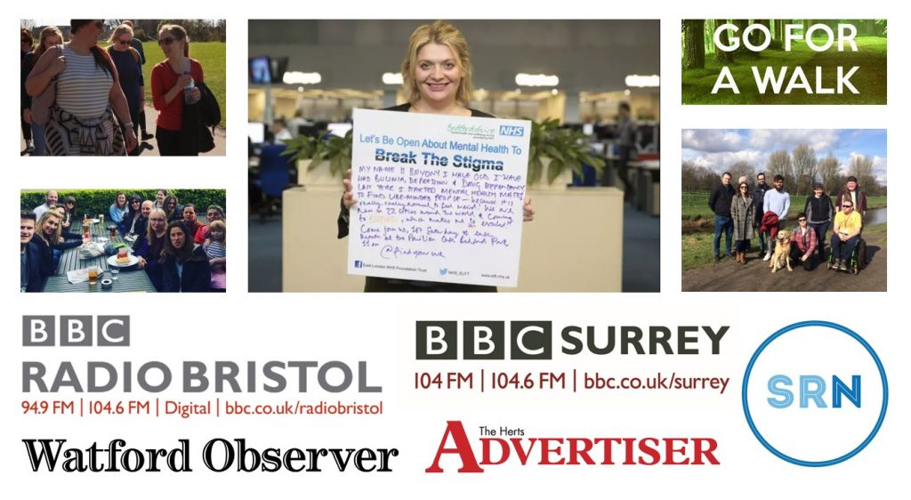 MHM in local media such as BBC Surrey, BBC Bristol and the Herts Advertiser