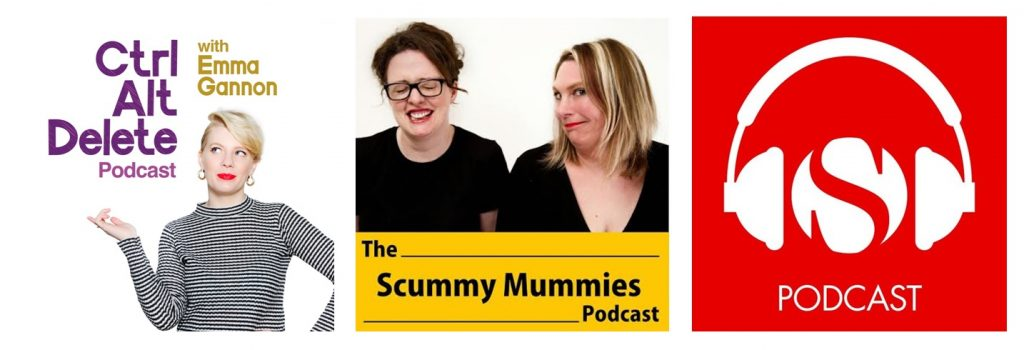 Podcast online media featuring Mental Health Mates: Ctrl Alt Delete, Scummy Mummies and the Spectator